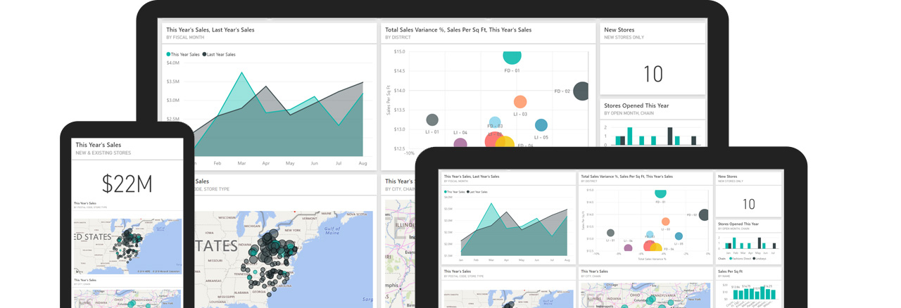 business intelligence and analytics dashboards